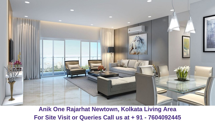 Anik One Rajarhat Newtown, Kolkata Living Area