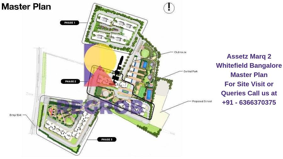 Assetz Marq 2 Whitefield Bangalore Master Plan