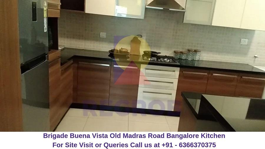 Brigade Buena Vista Old Madras Road Bangalore Kitchen
