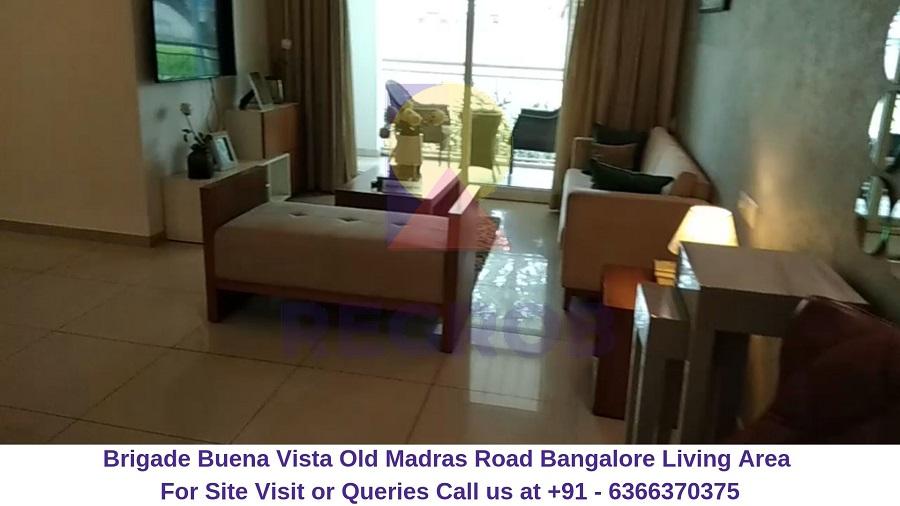 Brigade Buena Vista Old Madras Road Bangalore Living Area