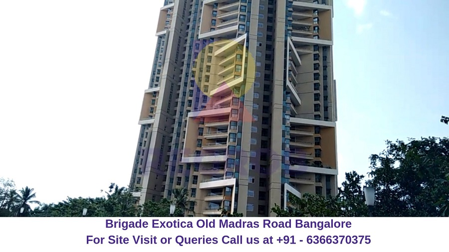 Brigade Exotica Old Madras Road Bangalore Outer View