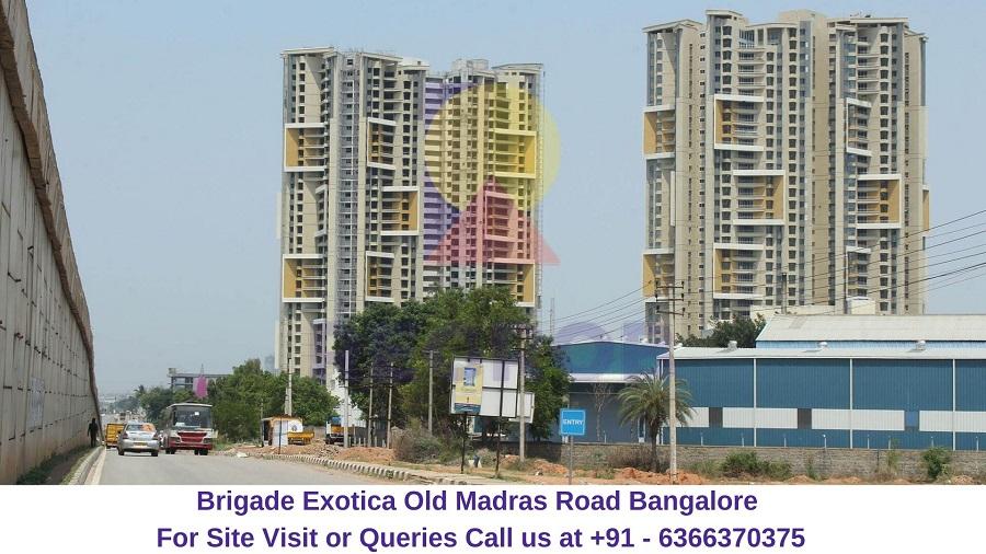 Brigade Exotica Old Madras Road Bangalore
