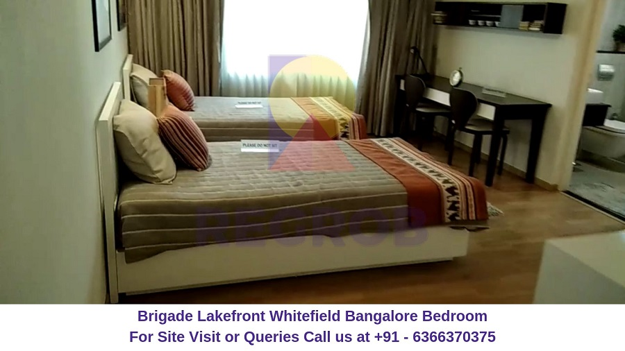 Brigade Lakefront Whitefield Bangalore Bedroom