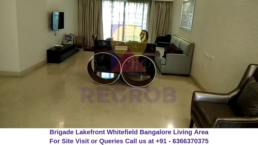 Brigade Lakefront Whitefield Bangalore Living Area