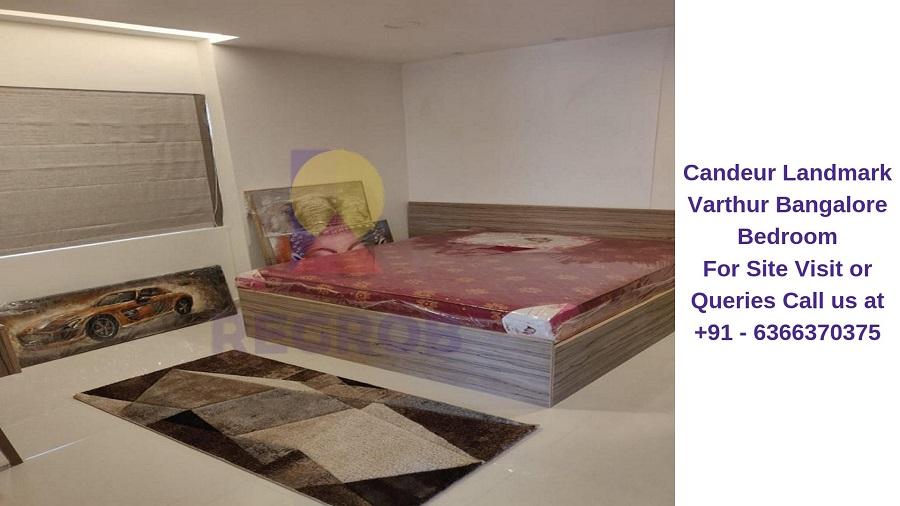 Candeur Landmark Varthur Bangalore Bedroom