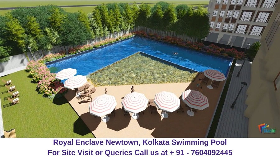 Dharitri Royal Enclave Newtown, Kolkata Swimming Pool