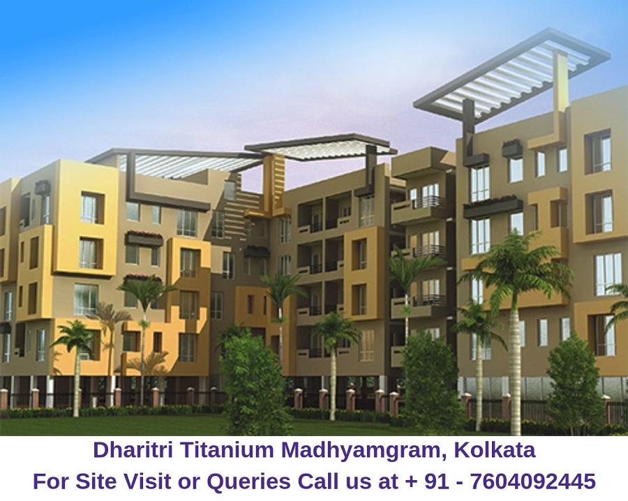 Dharitri Titanium Madhyamgram, Kolkata Elevation (1)