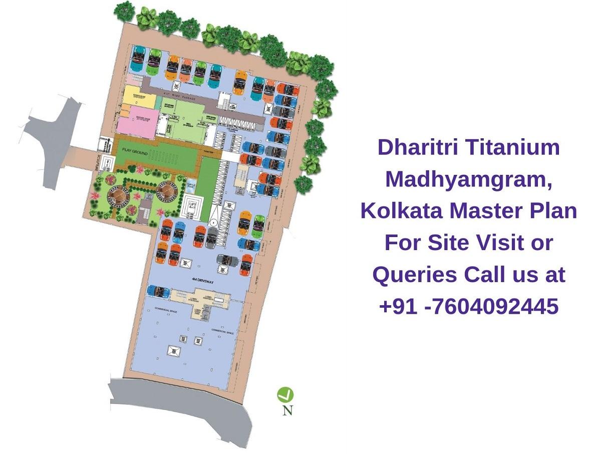 Dharitri Titanium Madhyamgram, Kolkata Master Plan