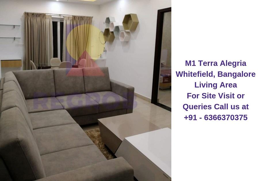 M1 Terra Alegria Whitefield, Bangalore Living Area