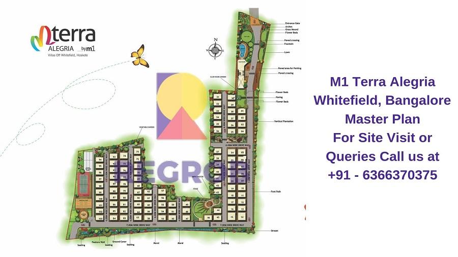 M1 Terra Alegria Whitefield, Bangalore Master Plan