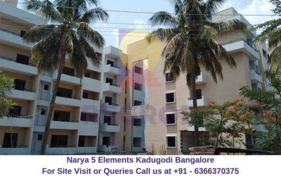 Narya 5 Elements Kadugodi Bangalore