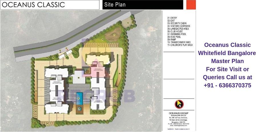 Oceanus Classic Whitefield Bangalore Master Plan