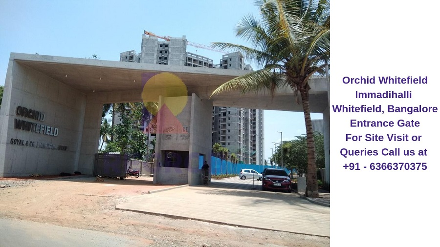 Orchid Whitefield Immadihalli Whitefield,Bangalore Entrance Gate