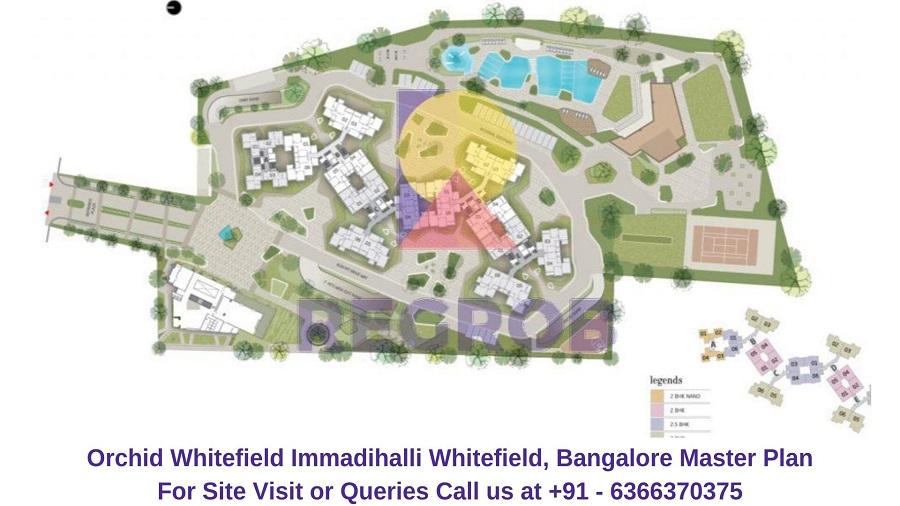 Orchid Whitefield Immadihalli Whitefield,Bangalore Maste Plan