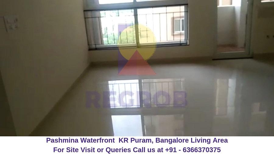 Pashmina Waterfront KR Puram,Bangalore Living Area