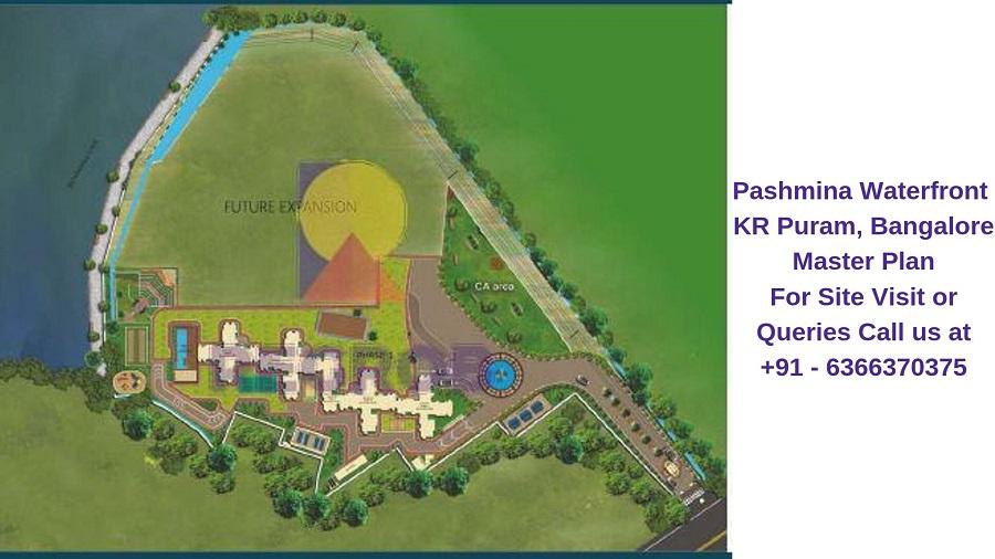 Pashmina Waterfront KR Puram,Bangalore Master Plan
