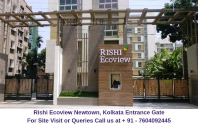 Rishi Ecoview Newtown, Kolkata Main Entrance