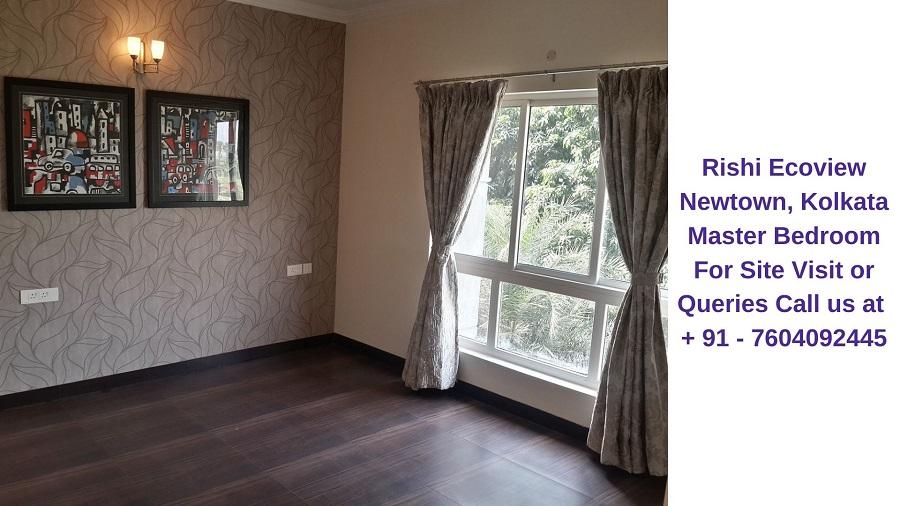 Rishi Ecoview Newtown, Kolkata Master Bedroom