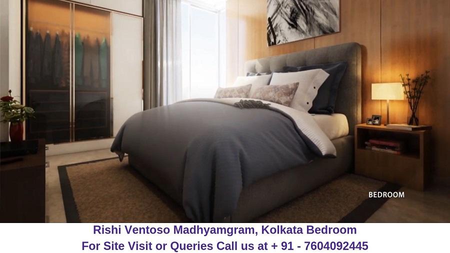 Rishi Ventoso Madhyamgram, Kolkata Bedroom