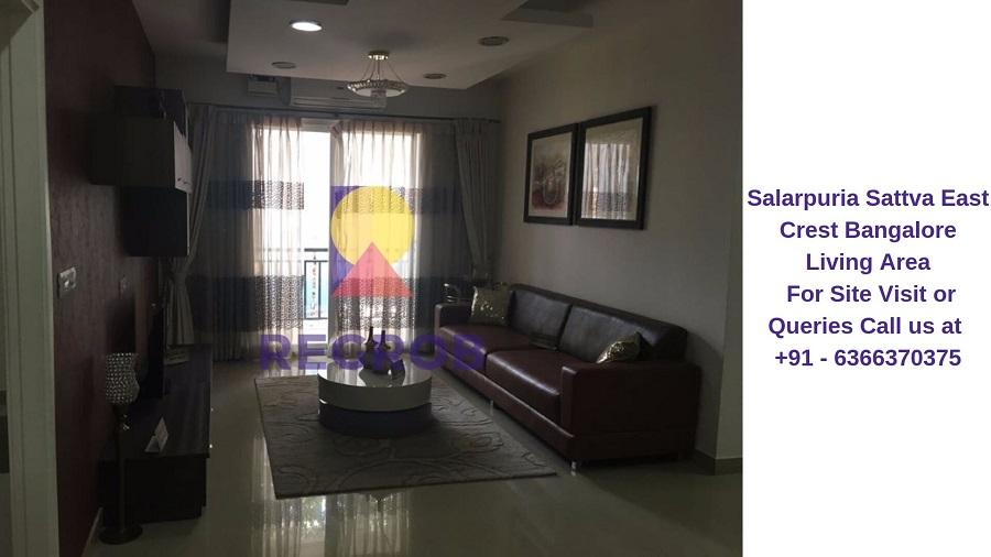 Salarpuria Sattva East Crest Bangalore Living Area
