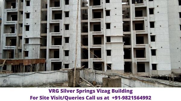 VRG Silver Springs China Mushidiwada Vizag Building