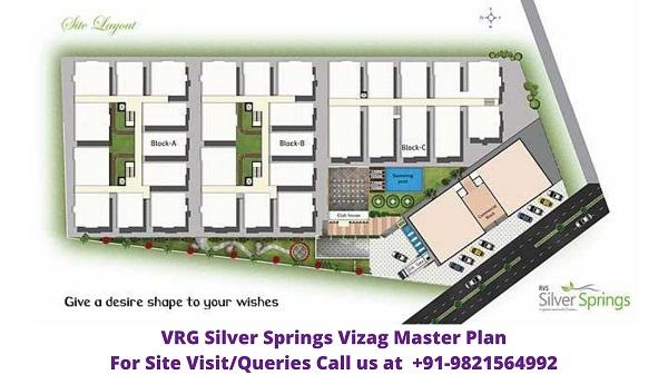 VRG Silver Springs China Mushidiwada Vizag Master Plan