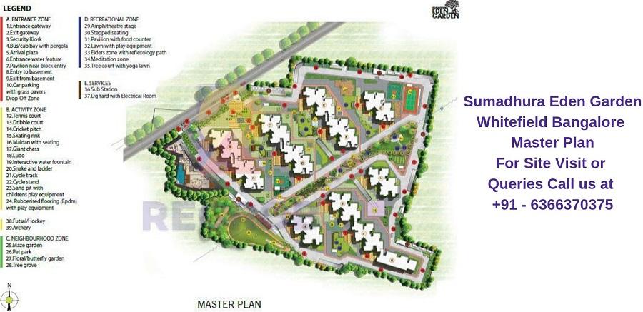 Sumadhura Eden Garden Whitefield Bangalore Master Plan