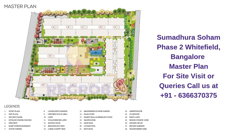 Sumadhura Soham Phase 2 Whitefield, Bangalore Master Plan