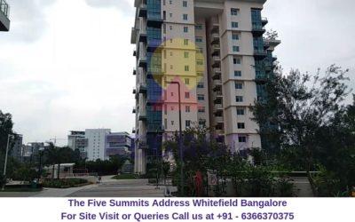 The Five Summits Address Whitefield Bangalore