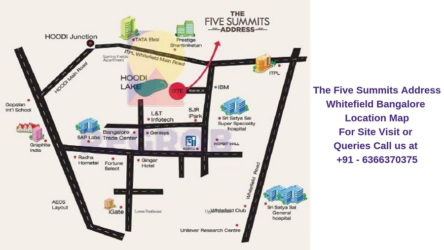 The Five Summits Address Whitefield Bangalore Location Map