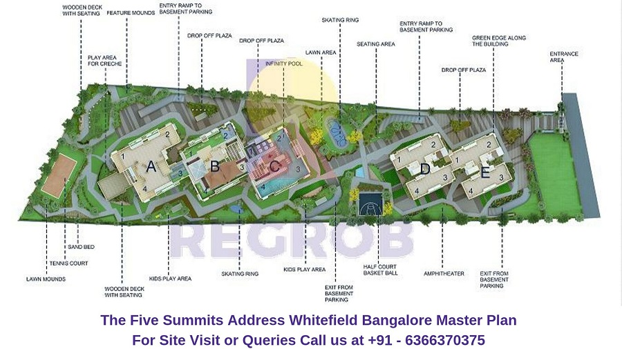 The Five Summits Address Whitefield Bangalore Master Plan