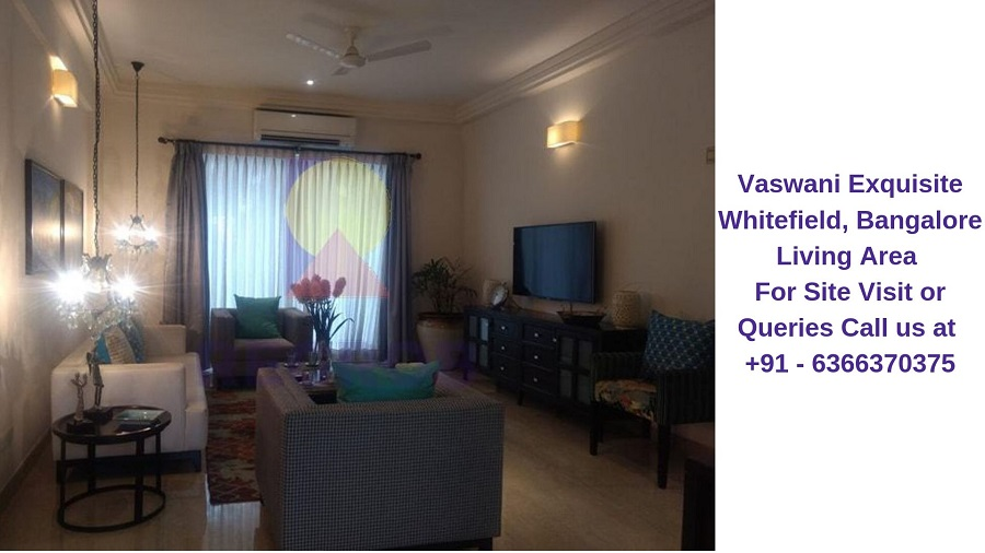 Vaswani Exquisite Whitefield, Bangalore Living Area