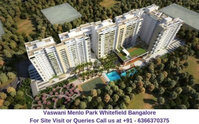 Vaswani Menlo Park Whitefield Bangalore Aerial View