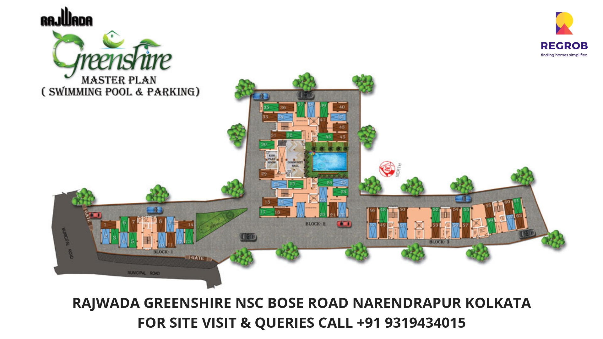 Rajwada Greenshire N.S.C Bose Road Narendrapur Kolkata