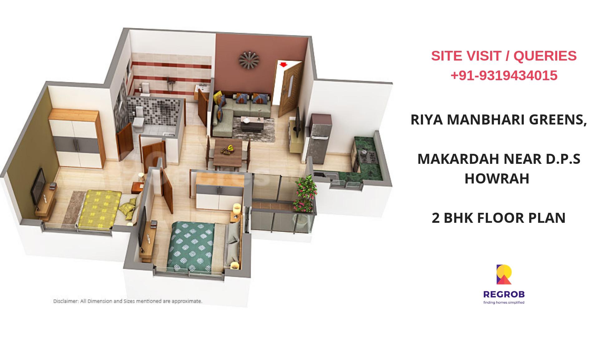 Riya Manbhari Greens Howrah