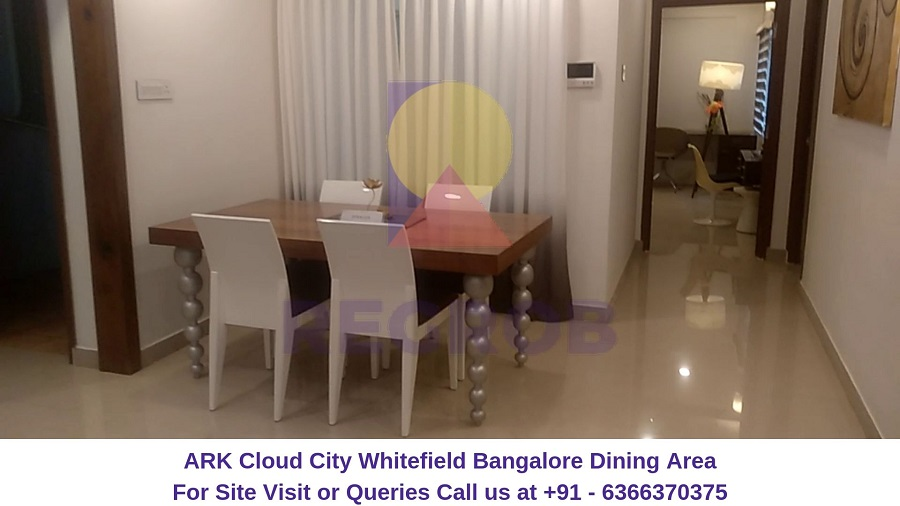 ARK Cloud City Whitefield Bangalore Dining Area
