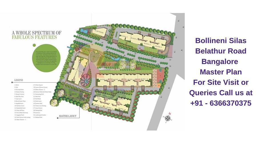 Bollineni Silas Belathur Road Bangalore Master Plan