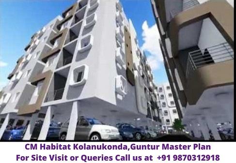 CM Habitat Kolanukonda Guntur Master Plan