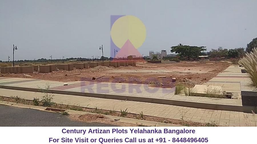 Century Artizan Plots Yelahanka Bangalore Actual Image (3)