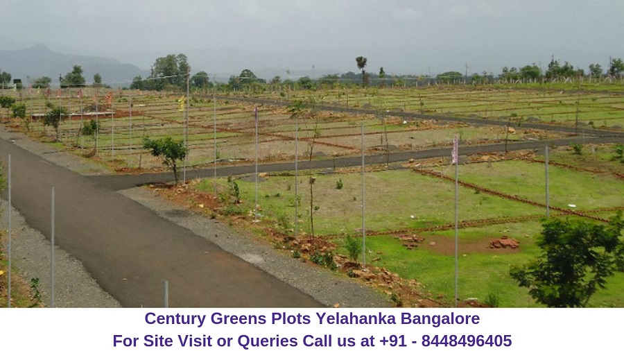 Century Greens Plots Yelahanka Bangalore Actual Image (2)