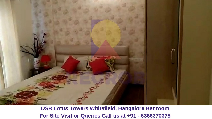 DSR Lotus Towers Whitefield, Bangalore Bedroom