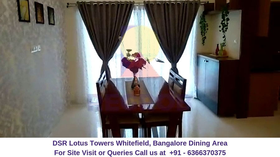 DSR Lotus Towers Whitefield, Bangalore Dining Hall