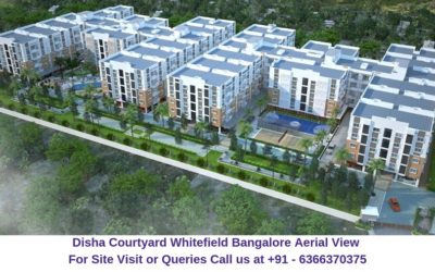 Disha Courtyard Whitefield Bangalore Aerial View