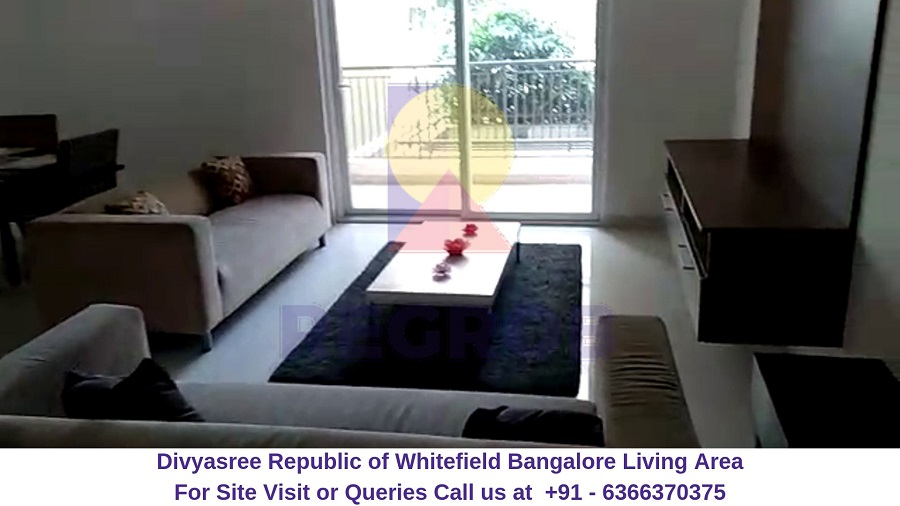 Divyasree Republic of Whitefield Bangalore Living Area