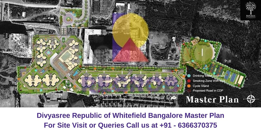 Divyasree Republic of Whitefield Bangalore Master Plan