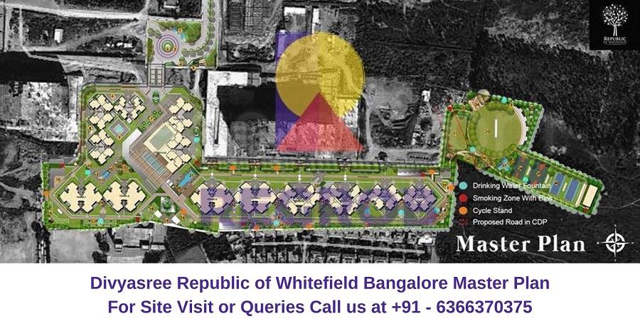Divyasree Republic of Whitefield Bangalore Master Plan