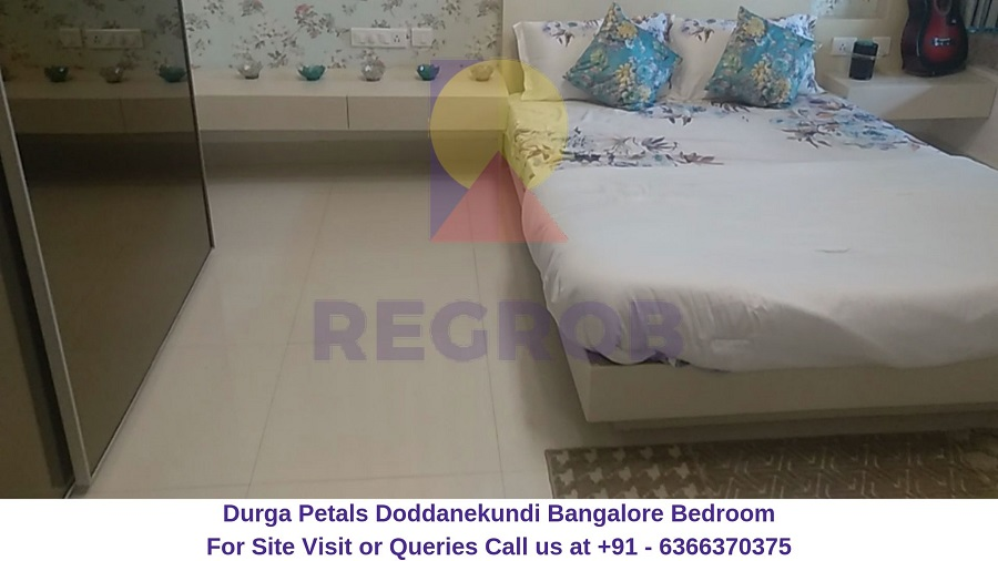Durga Petals Doddanekundi Bangalore Bedroom