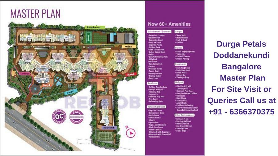 Durga Petals Doddanekundi Bangalore Master Plan