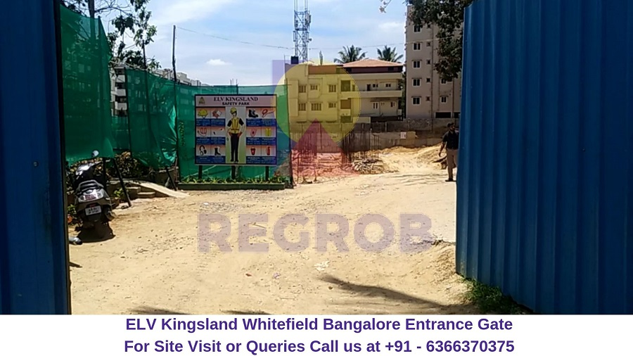 ELV Kingsland Whitefield Bangalore Entrance Gate