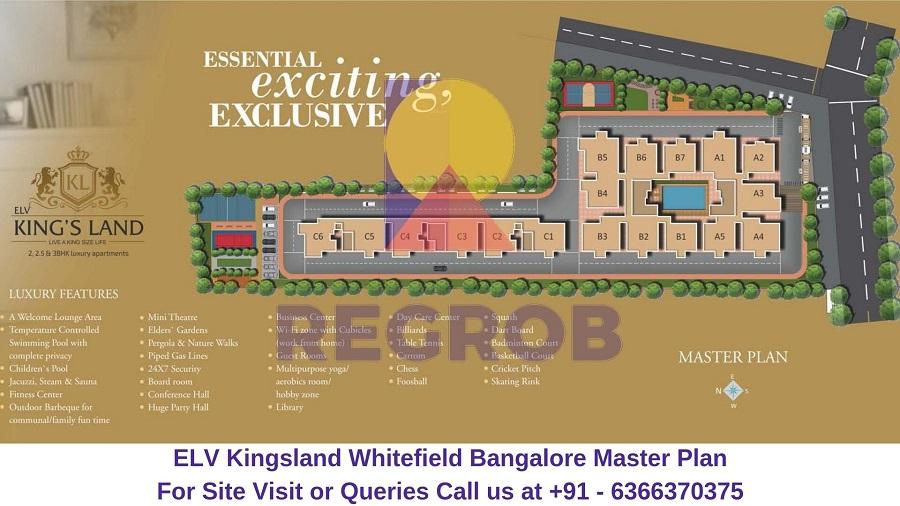 ELV Kingsland Whitefield Bangalore Master Plan